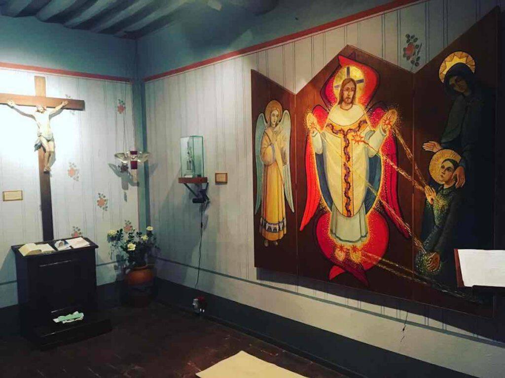 La stanza dove Gemma Galgani ricevette una grazia grandissima, il dono delle Sante Stigmate