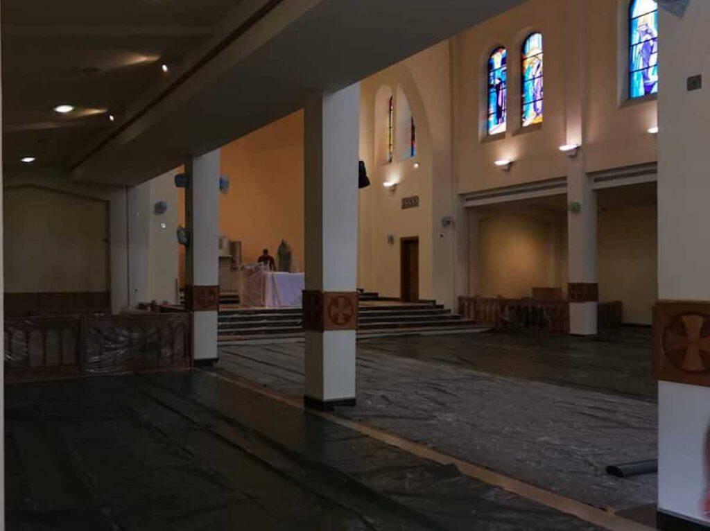 La ristrutturazione della chiesa di san Giacomo a Medjugorje