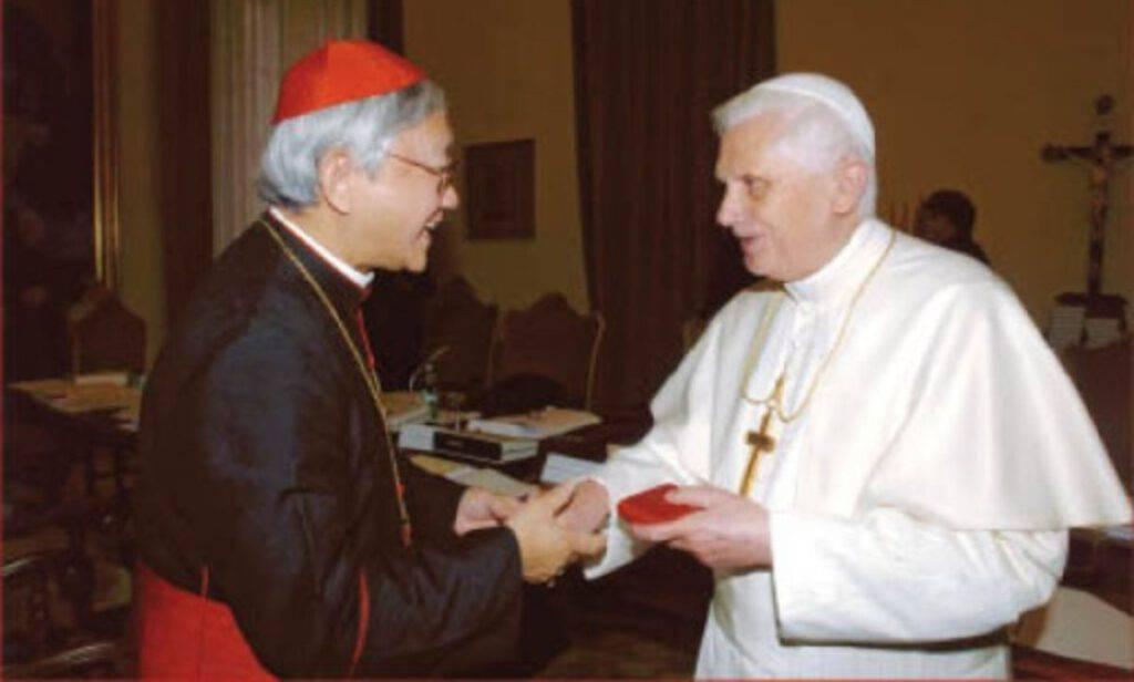 Cardinal Zen e Benedetto XVI