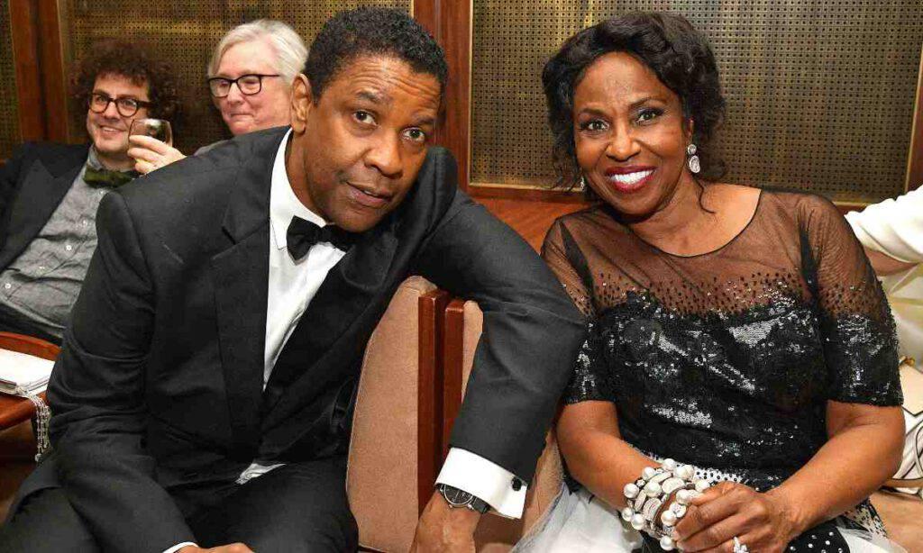 Denzel Washington e sua moglie Pauletta