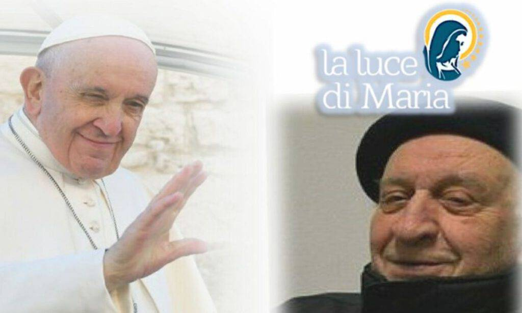 Don Antonio Villa e Papa Francesco