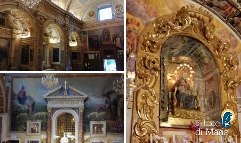 Madonna dell'Ambro Italia in Preghiera