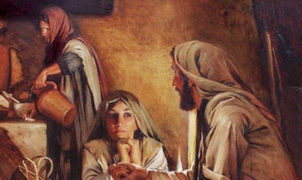 Marta, Maria e Gesù