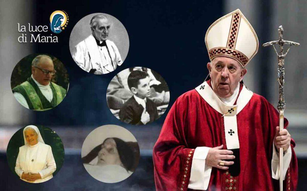 Papa Francesco nuovi beati e venerabili