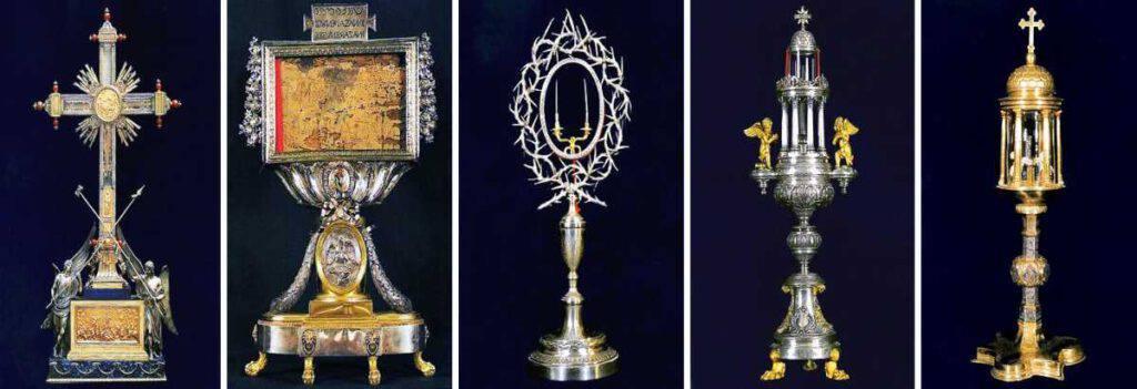Santa Croce in Gerusalemme, le reliquie