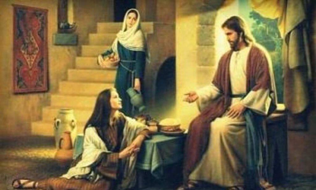 Sante Marta e Maria