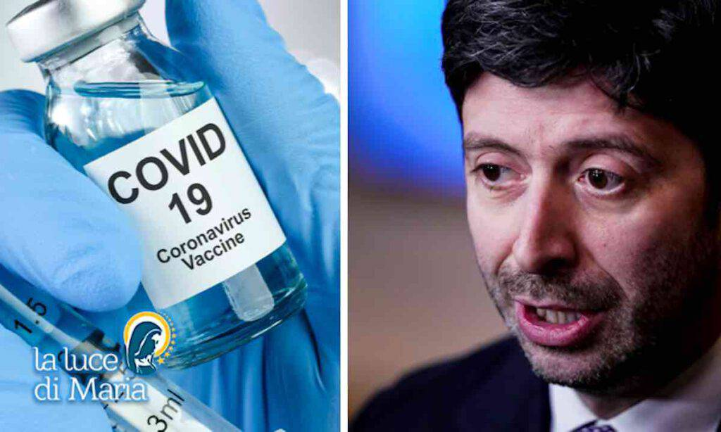 Vaccino Coronavirus - Ministro Speranza