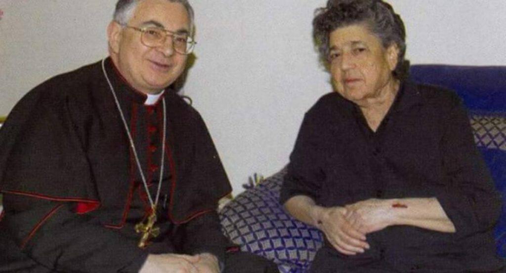 Vescovo Luigi Renzo e Natuzza