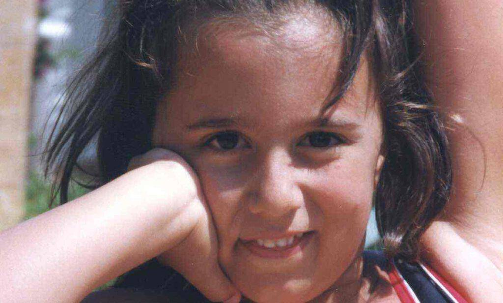La tenerezza di Eleonora da piccola