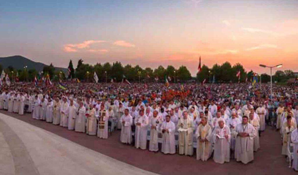 Settimana di preghiera a Medjugorje per i sacerdoti, luglio 2020