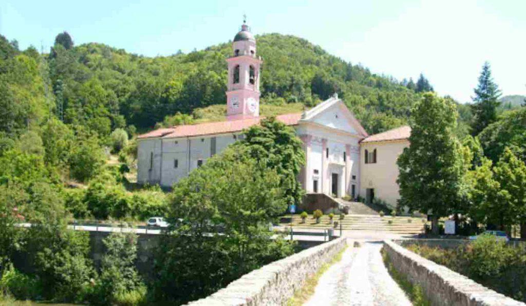 Il Santuario di Nostra Signora di Montebruno