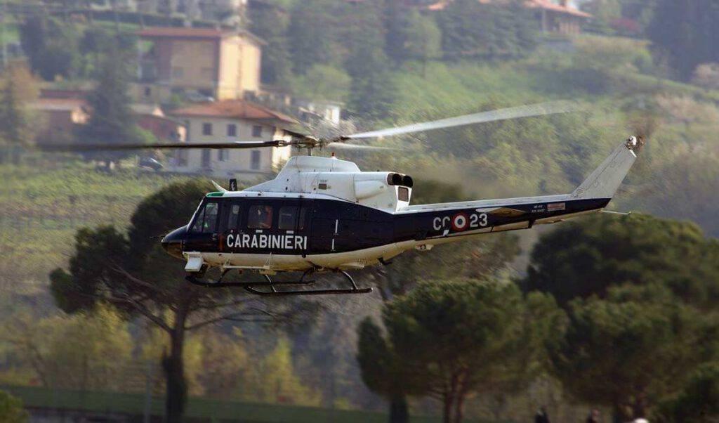Carabinieri elicottero