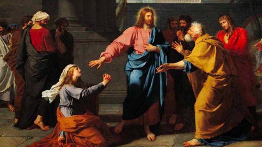 Vangelo Gesù e la donna Cananea