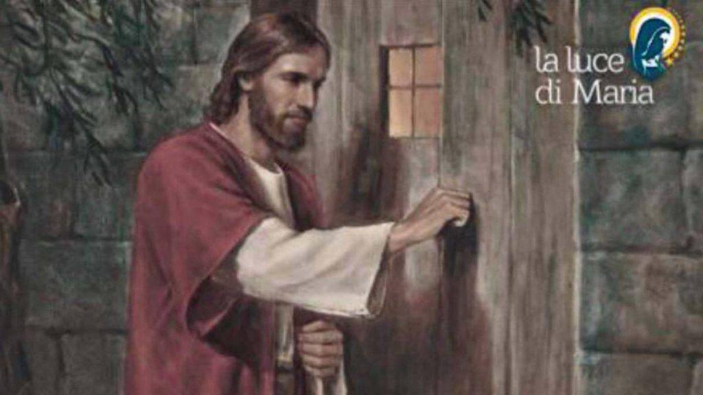 Vangelo Gesù bussa