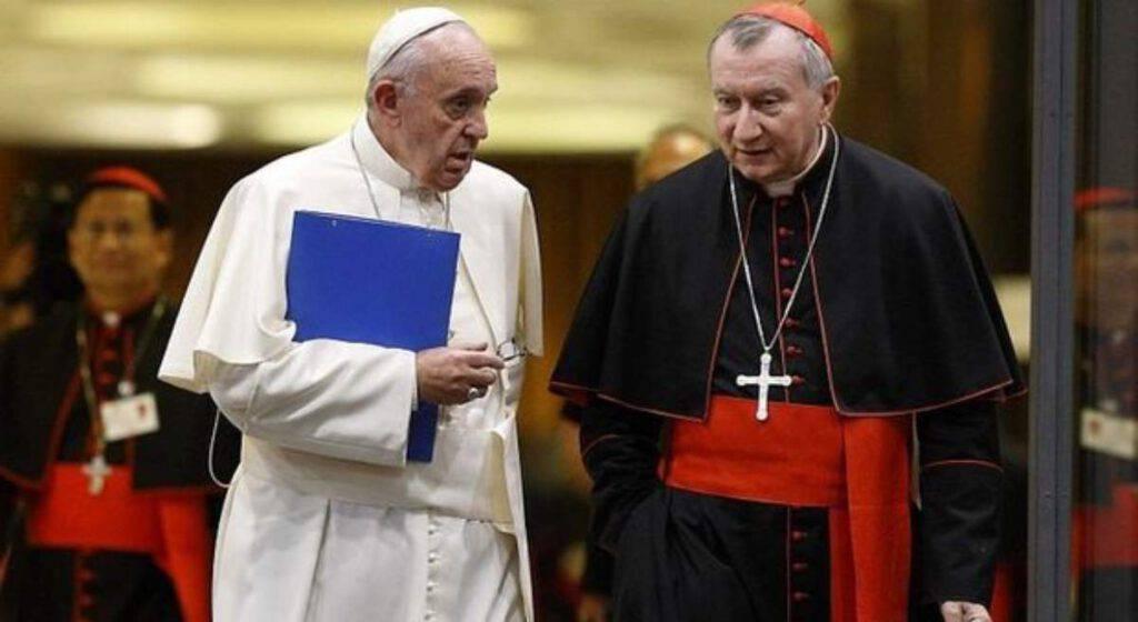 parolin e papa
