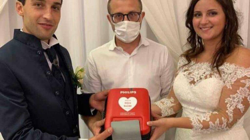defibrillatore - bomboniere