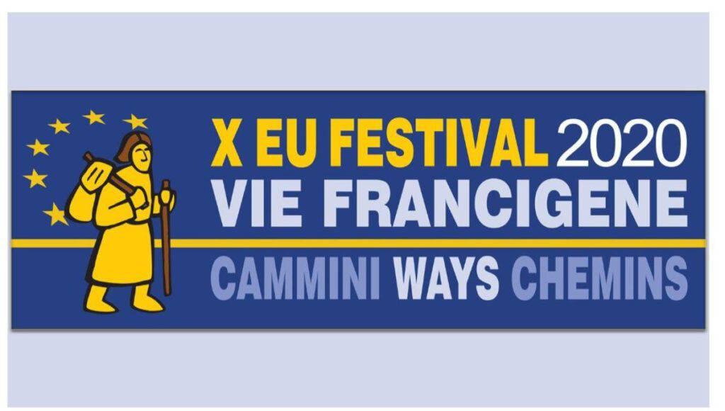 Logo Festival Europeo delle Vie Francigene