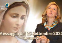 Medjugorje Messaggio 25 Settembre 2020