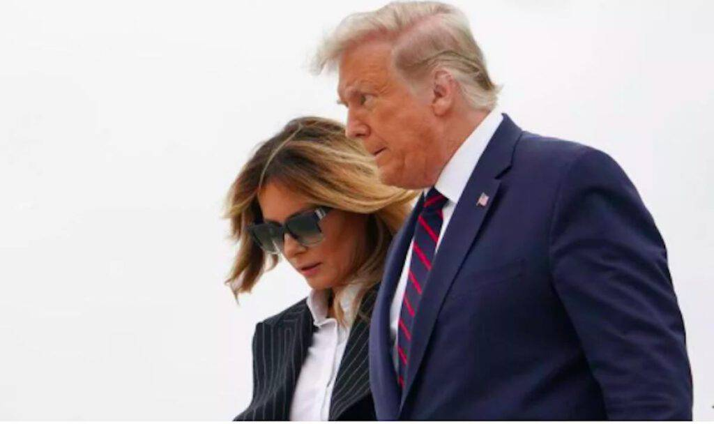 Donal de Melania Trump Covid