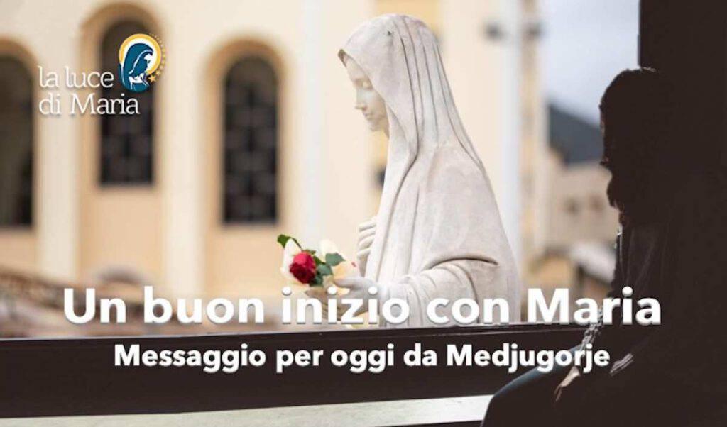 Inizio con Maria Medjugorje