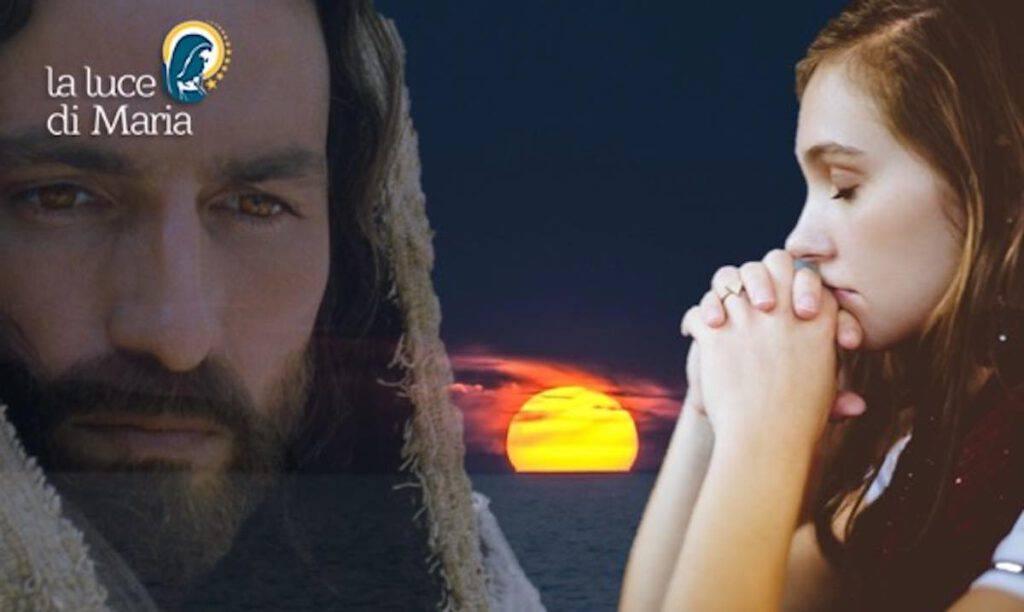 Preghiera della sera del venerdi