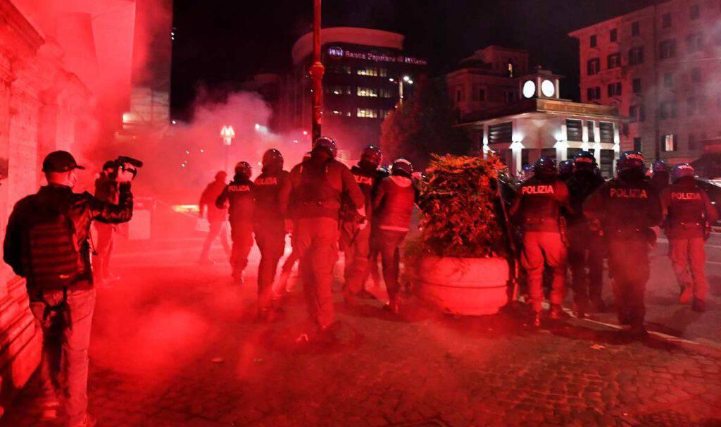 Roma proteste