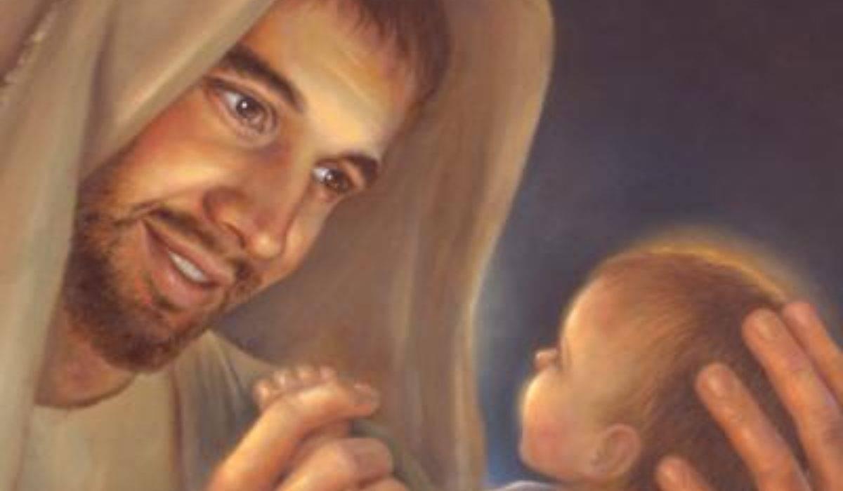 San Giuseppe Gesù bambino