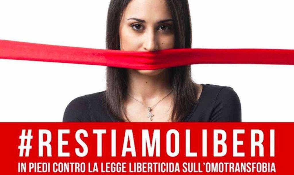 Ddl Zan: tutti in piazza sabato 17 ottobre per la libertà