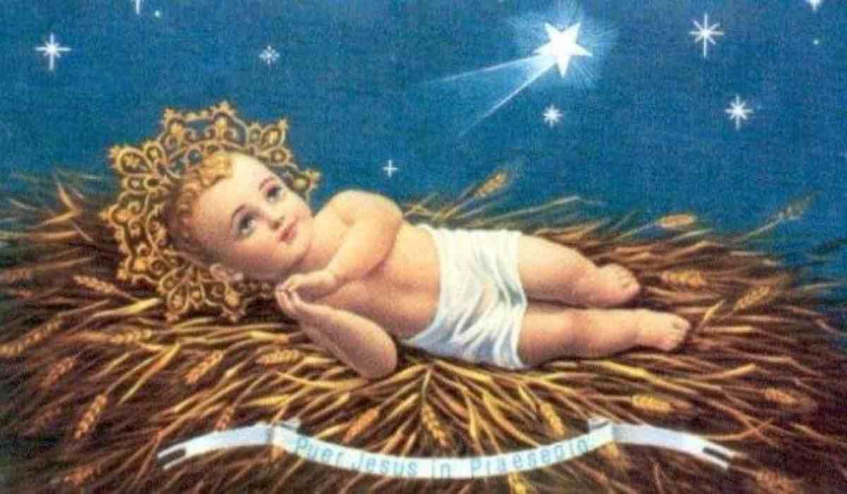 Nascita Gesù bambino