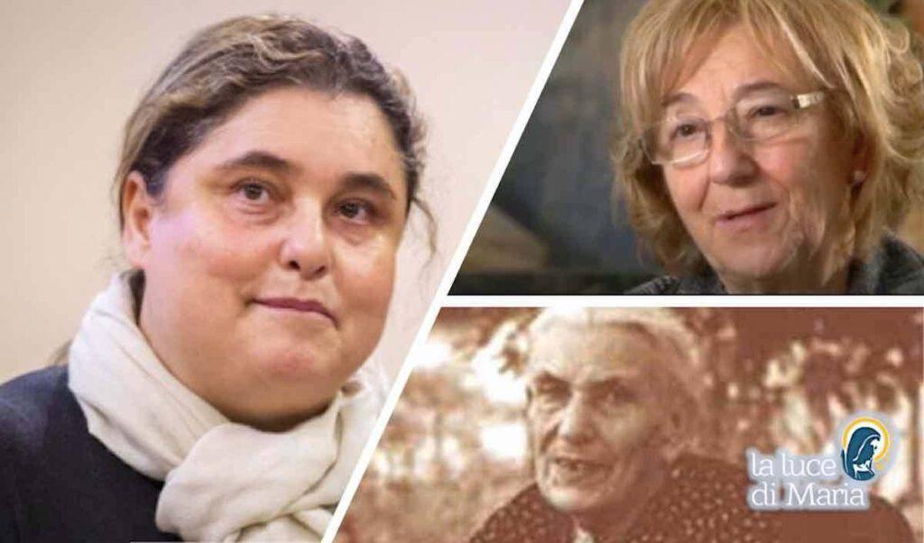 Mamma, tre donne che hanno assistito alla beatificazione e santificazione del figlio