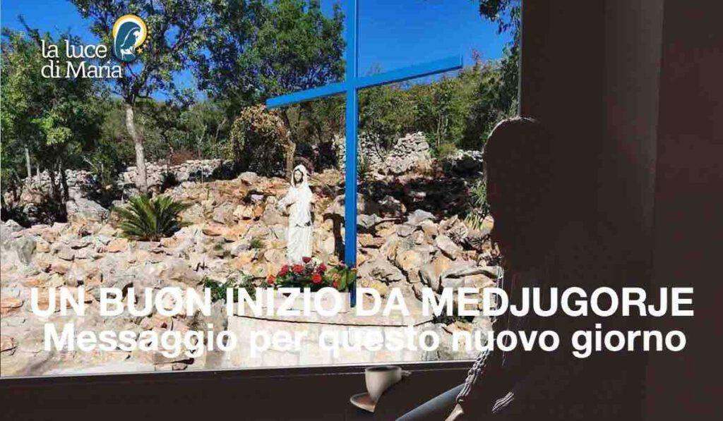 Medjugorje: Messaggio per questo lunedì