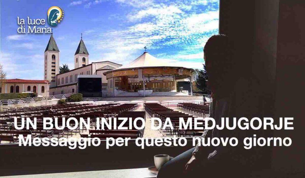 Medjugorje, il messaggio della Madonna per oggi