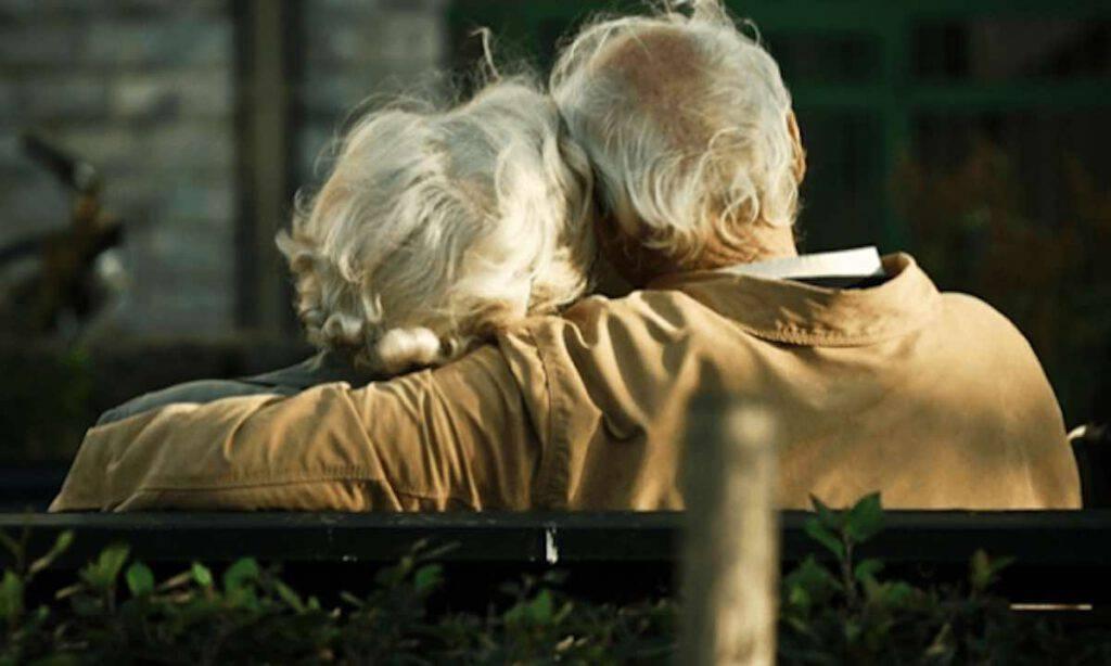 Amore anziani serenata