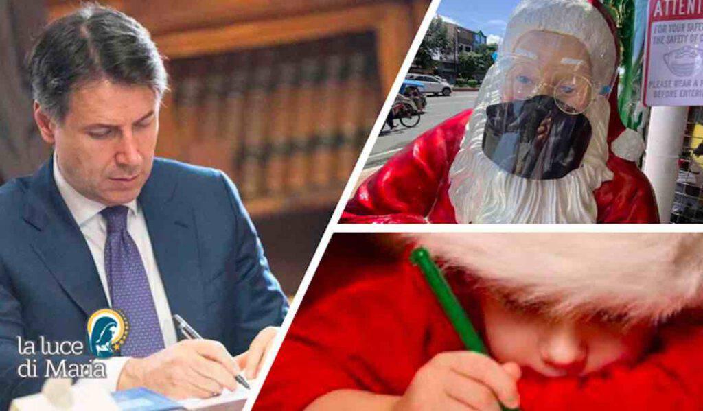 Conte scrive Tommaso Babbo Natale