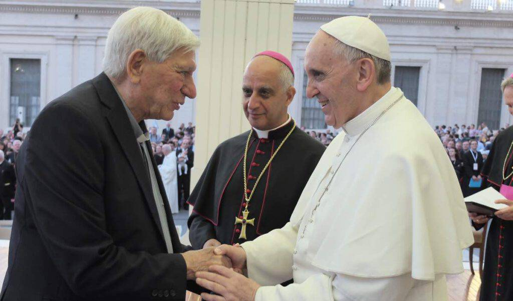 Don Perini e Papa Francesco