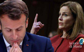 Emmanuel Macron Amy Coney Barrett