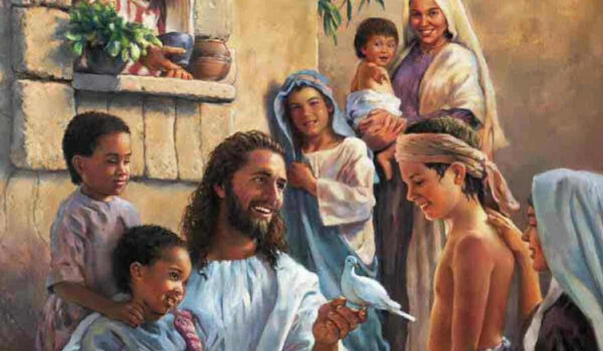 Dio si manifesta ai piccoli