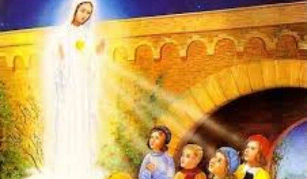 La Madonna di Beauraing appare a quattro giovani in Belgio