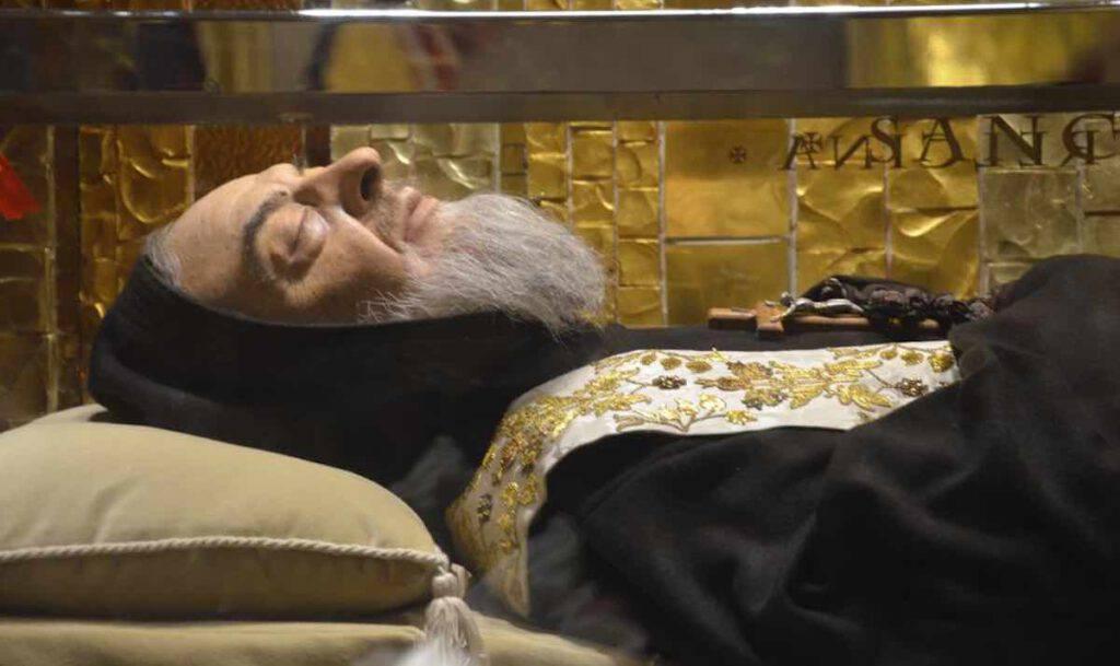 Padre Pio - Corpo - Cripta - Santuario