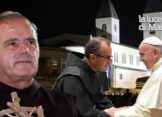 Padro Jozo Medjugorje Papa Francesco Padre Marinko