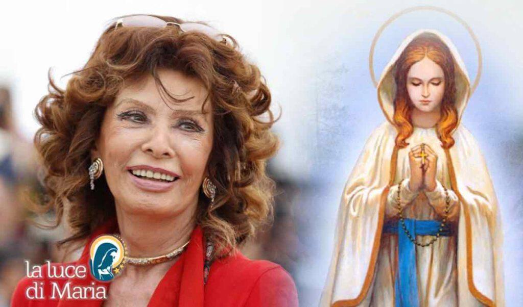 Sophia Loren - Madonna Lourdes