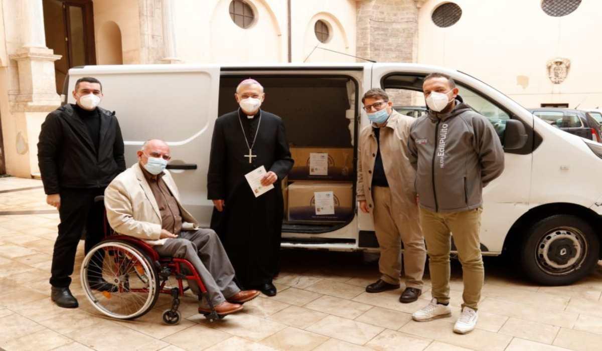 Covid: un trasposto eccezionale dalla Puglia al Vaticano, e alla guida l'Arcivescovo di Taranto