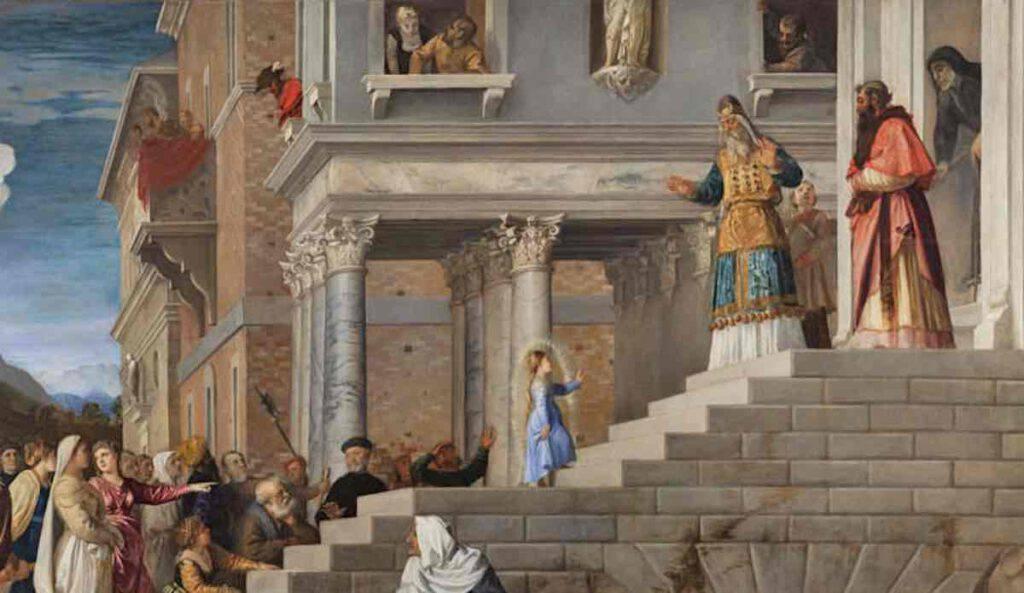 Preghiera per la presentazione di Maria al Tempio