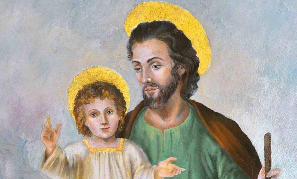 Sacro Manto di San Giuseppe, particolarmente indicato nella prova