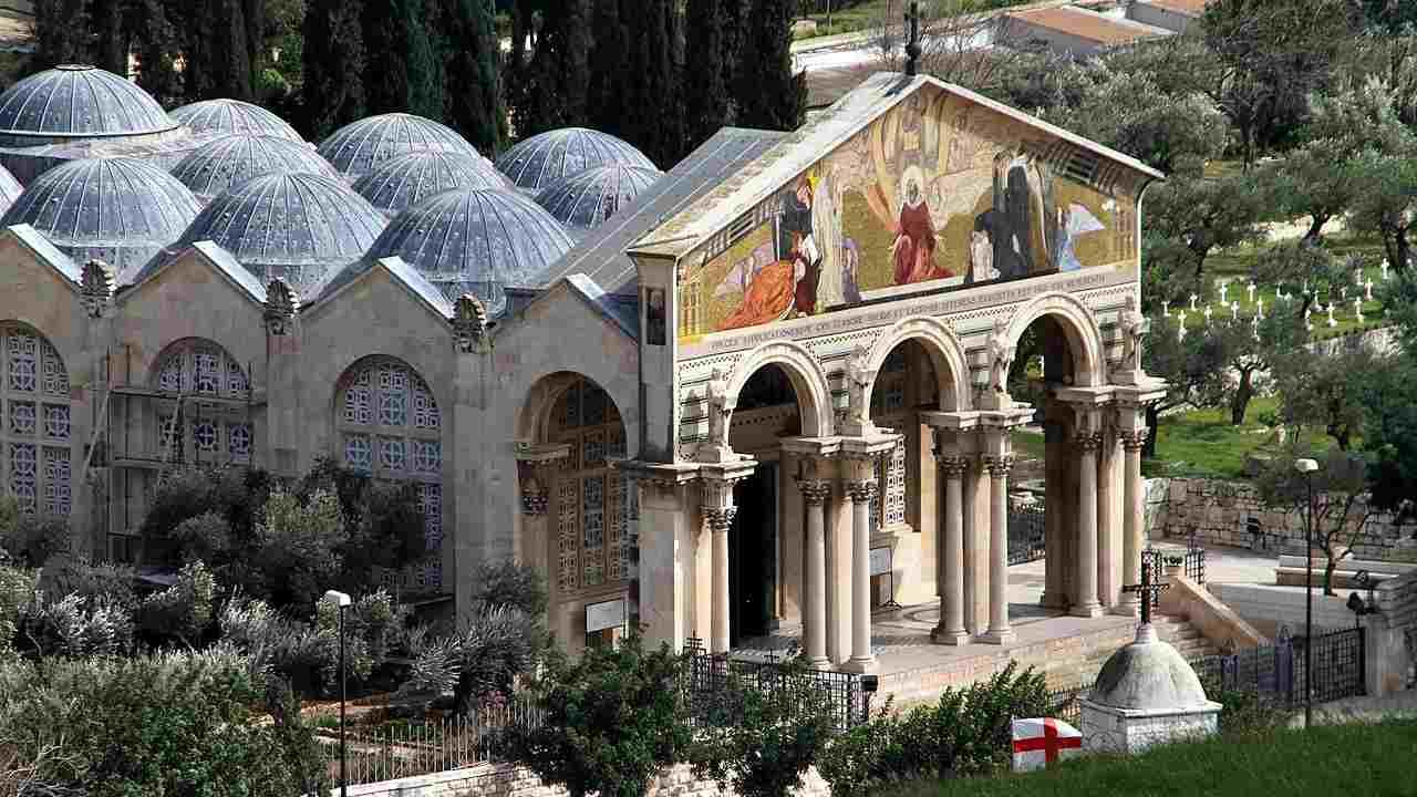 Terra Santa: atto vandalico contro la chiesa del Getsemani