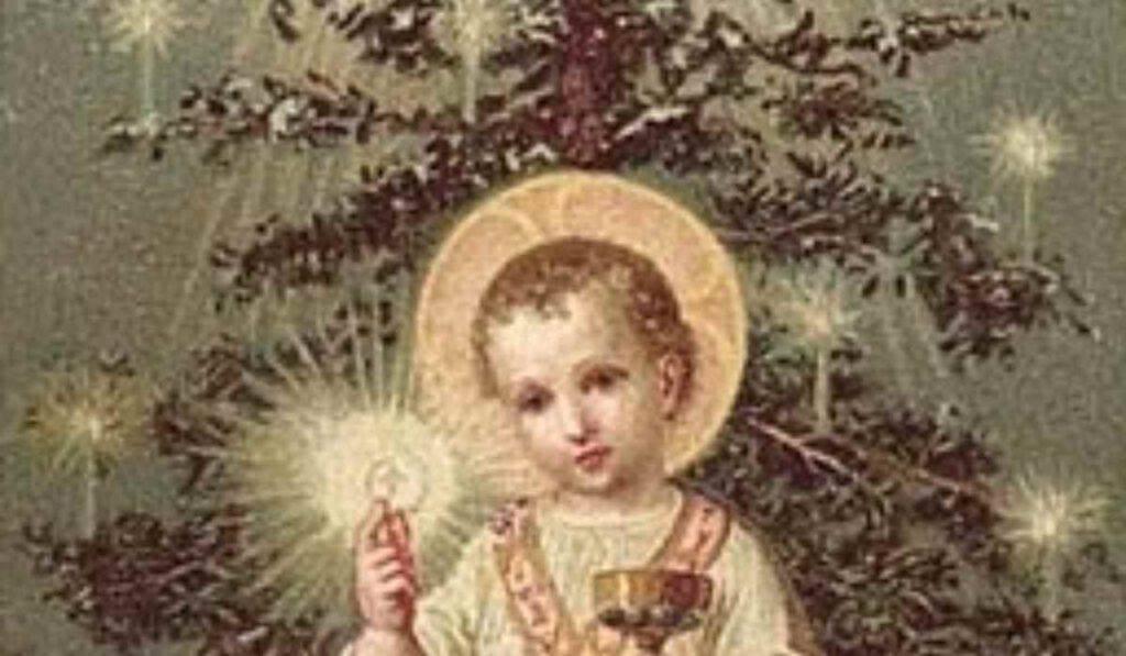 Albero di Natale Gesù bambino