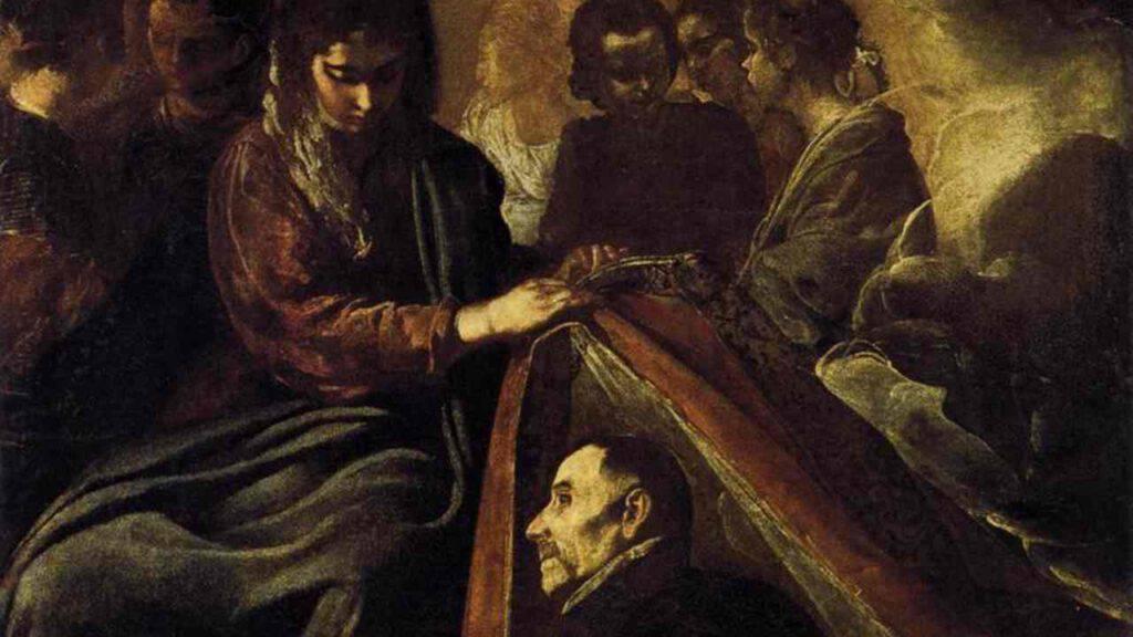 Madonna Toledo casula Sant'Ildefonso