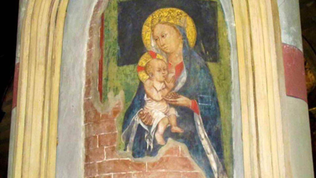 Madonna del Latte Dolce: il miracolo nella chiesetta