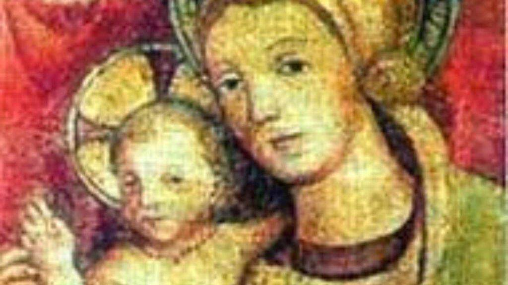 madonna chiavari maria bambino