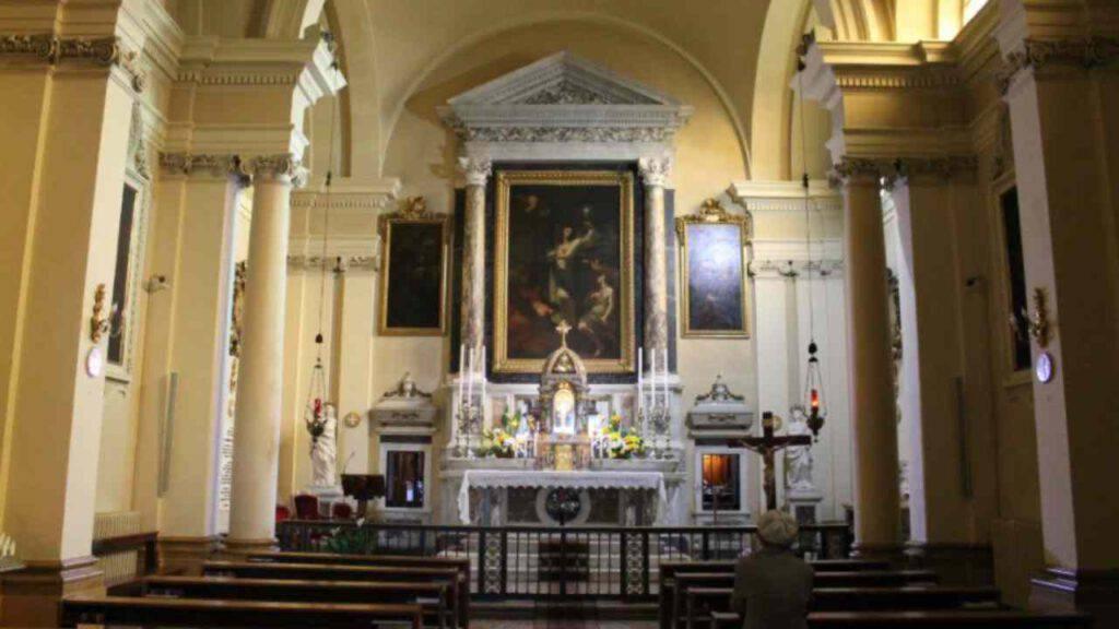 madonna di germania forlì santuario monastero